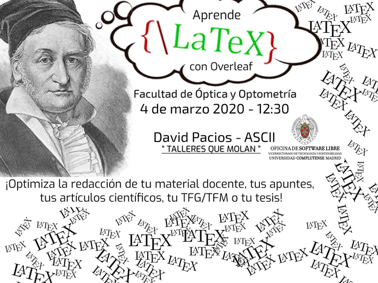 ¡MUST!: Taller LaTeX 4-marzo 12:30 Aula 206