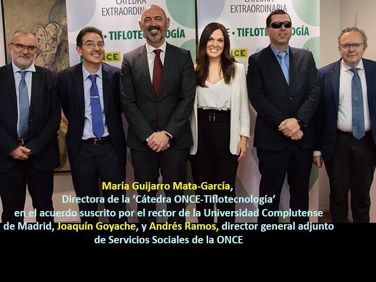 María Guijarro - Cátedra UCM-ONCE-Tiflotecnología