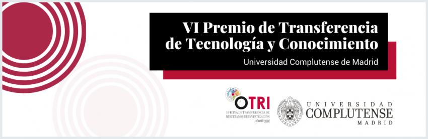 VI Premio de Transferencia de Tecnología y Conocimiento